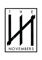 The Novembers logo Black