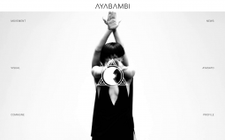 AyaBambi Landing screen